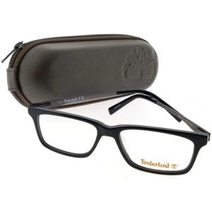 TB5065-001-49 Rectangle Men Black Frame Eyeglasses